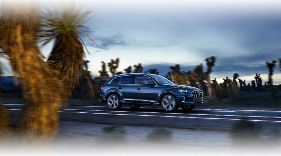 2021 Audi Q7 Powered with new engine