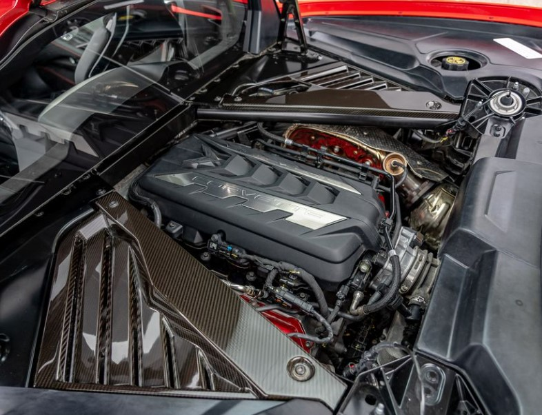 2021 Chevrolet Corvette powered with new engine system