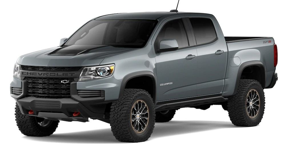 2021 Chevy Colorado Official Preview
