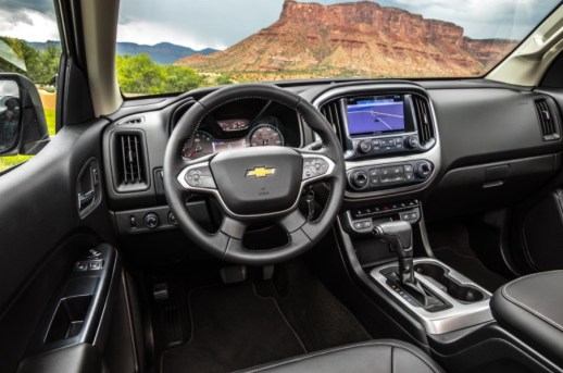 2021 Chevy Colorado new interior design