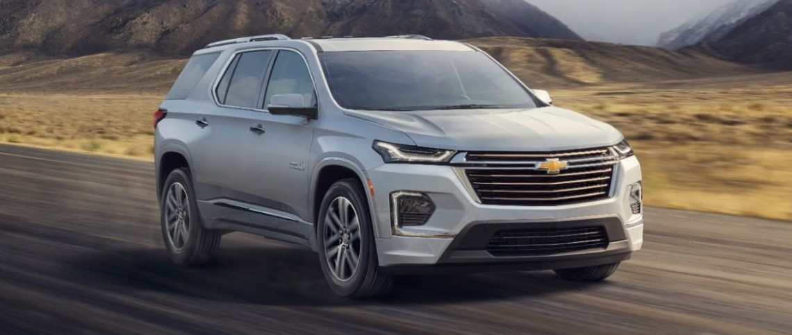 2021 Chevy Traverse Official Preview