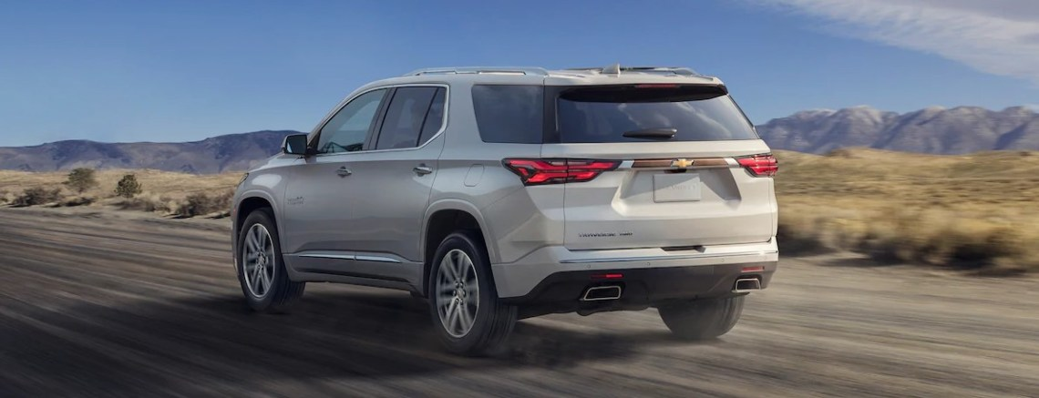 2021 Chevy Traverse has more power with its new engine