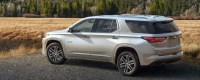 2021 Chevy Traverse new exterior design