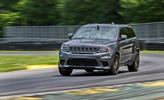 2021 Grand Cherokee Trackhawk Powertrain