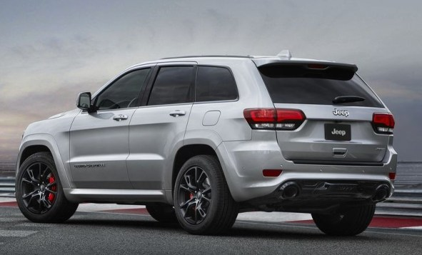 2021 Jeep Grand Cherokee SRT new exterior preview