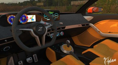 2021 Nissan 400Z with new interior concept