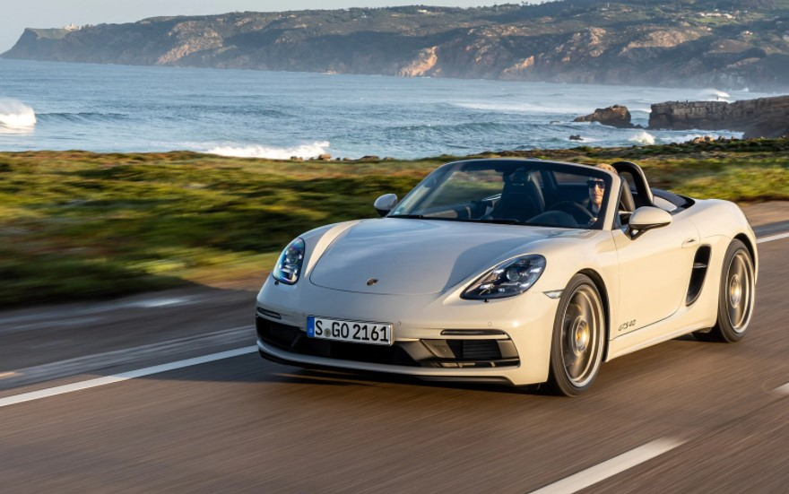 2021 Porsche 718 Boxster Powered with new engine system