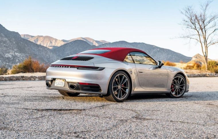2021 Porsche 911 with new exterior styling