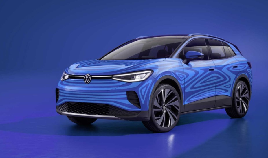 2021 Volkswagen ID.4 with new style design