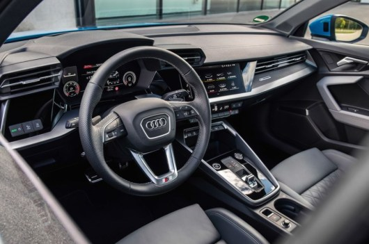 2022 Audi A3 with new interior