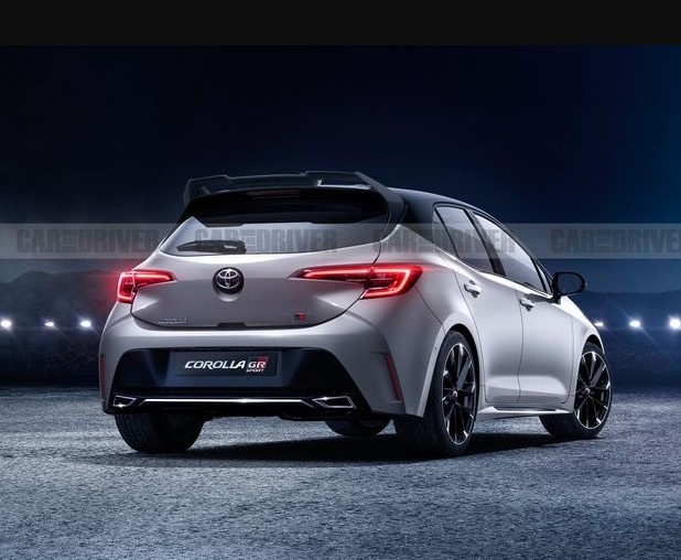 2022 Toyota GR Corolla with new exterior concept
