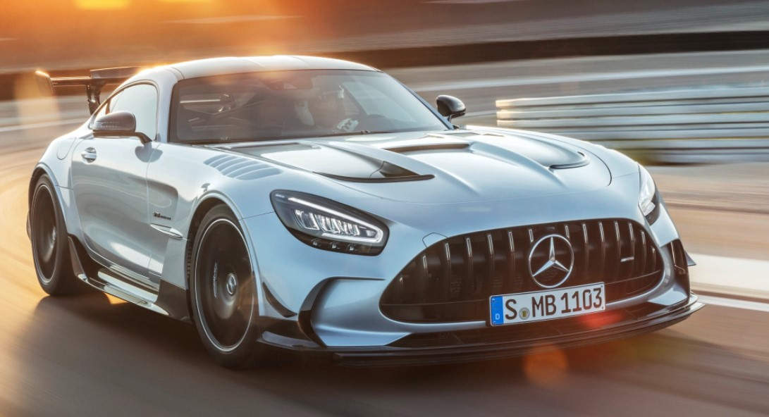 2021 Mercedes-AMG GT Powertrain
