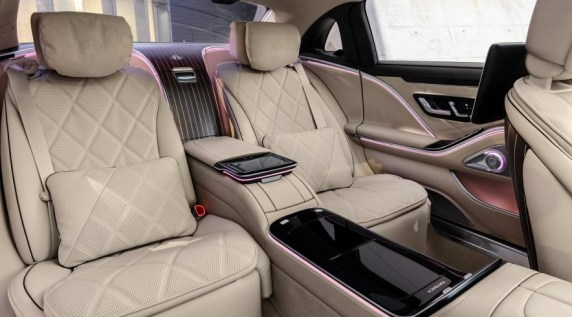 2021 Mercedes-Maybach S-Class New Interior