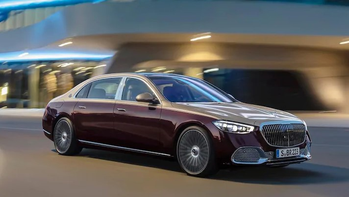 2021 Mercedes-Maybach S-Class Performance