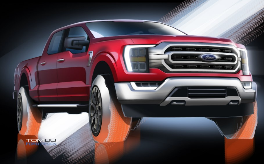 2023 Ford F-150 Electric Prototype