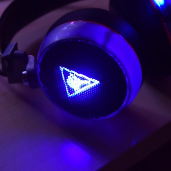 LED-Beleuchtung IV - Aukey GH-S4 Gaming Headset