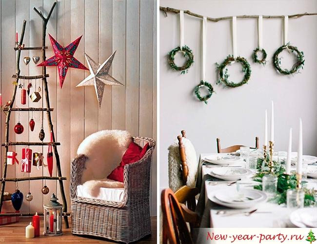 Χριστουγεννιάτικο τοίχο