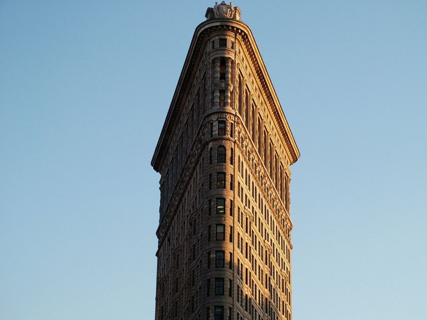 Flatiron Building in New York (Bild: New York Geheimtipps / Jürgen Kroder)