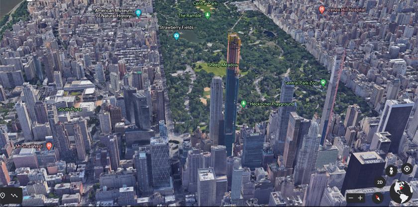 New York in 3D in Google Earth (Bild: Google)