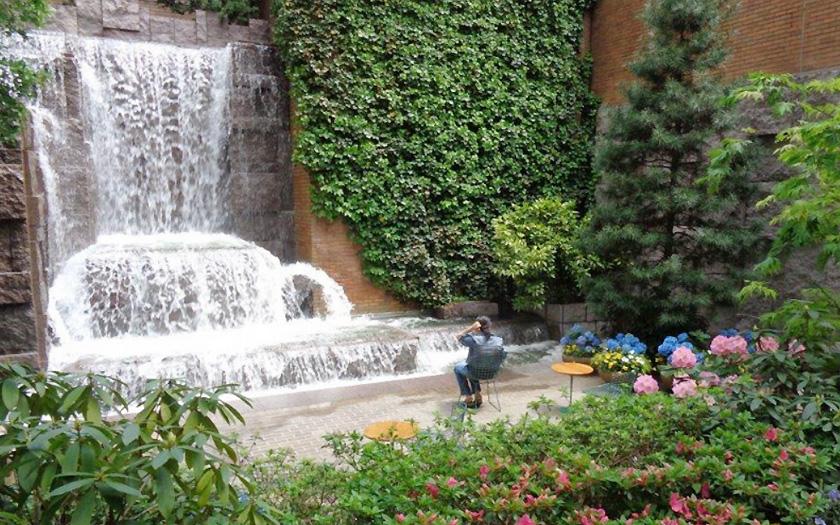 New York Greenacre Park (Bild: Greenacre Foundation)