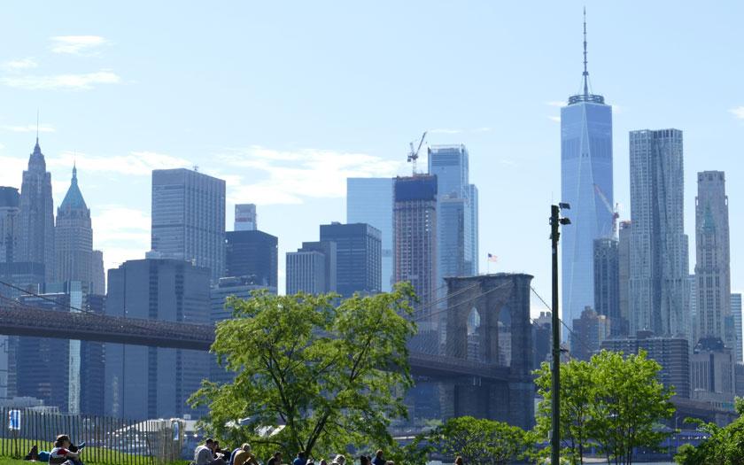 Ungewöhnliche Attraktivitäten in New York / Manhattan Skyline (Bild: Jürgen Kroder)
