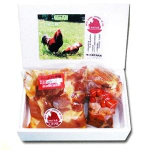 比内地鶏正肉セット(ガラ・モツ付き)