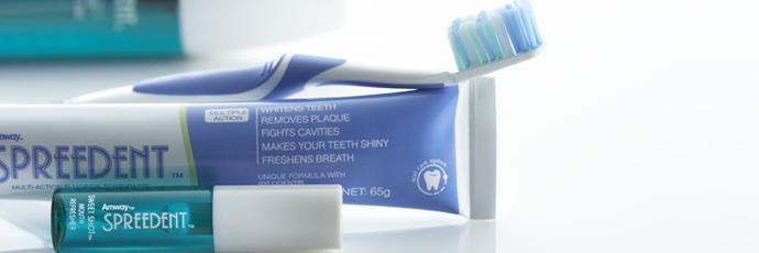 SPREEDENT 歯ブラシ 歯磨き粉 AMWAY