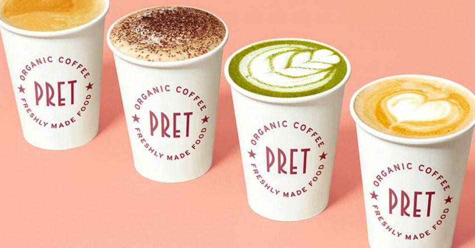 pret coffee subcription