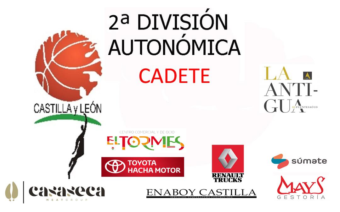 Crónica 2º División cadete CBT La Antigua VS CB Valladolid