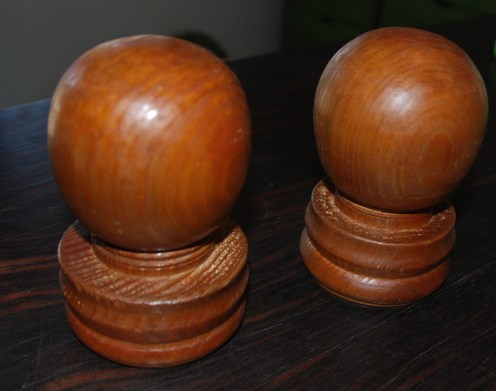 Second Turning Project: Custom bed finials
