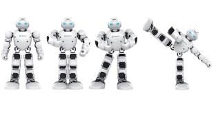 Humanoidni robot na Fakulteti za strojništvo.