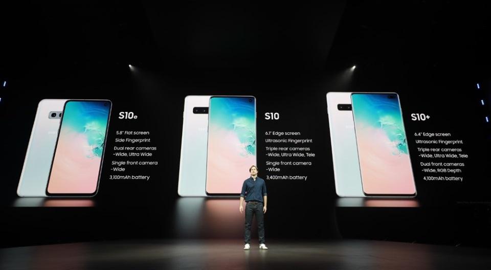 Družina Samsung Galaxy S10