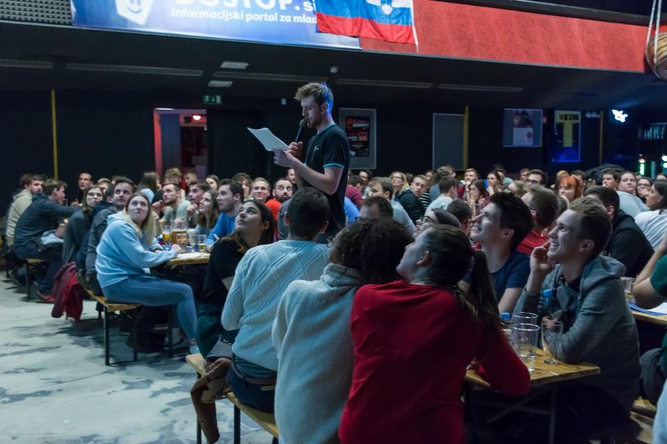 Trivia night – »Moja Slovenija« - Moderator