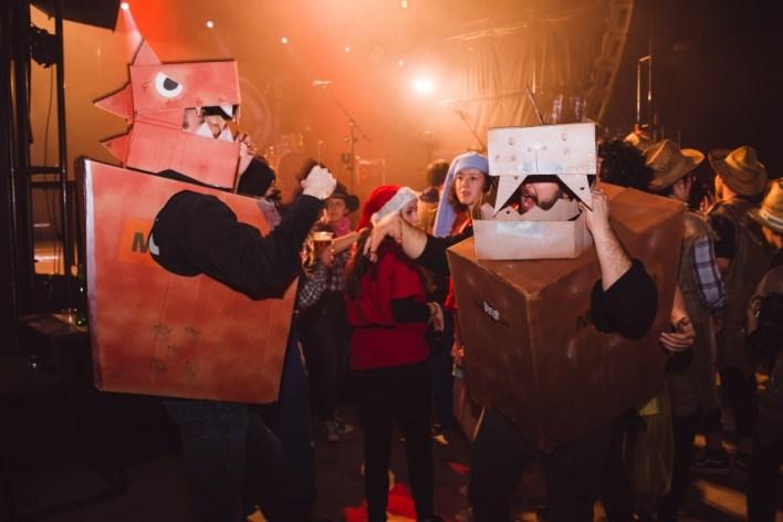 tudentsko pustovanje 2019 - različne maske