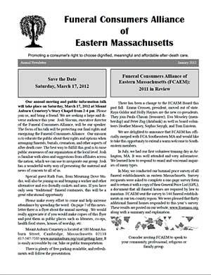 2012 Annual Newsletter