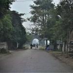 胡朝の城塞への入口