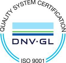 Quality system certification hidromod