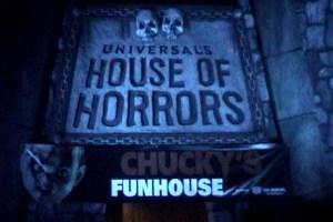 chucky's funhouse Universal Halloween Horror Nights 2009