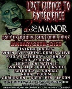 Molar Manor 2nd Chance Closing 2