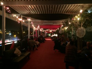 Queen Mary Dark Harbor RIP Lounge