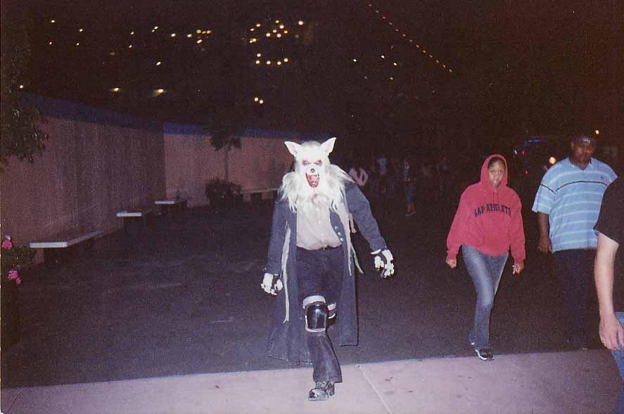 Queen Mary Terrorfest werewolf