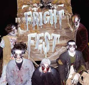 Six Flags Magic Mountain Fright Fest ghouls