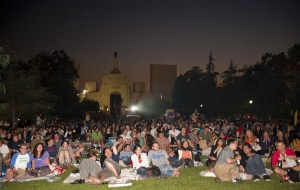 Outdoor Cinema Food Fest in Exposition Park