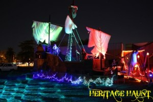 Chewy's Pirate Ship at Heritage Haunt