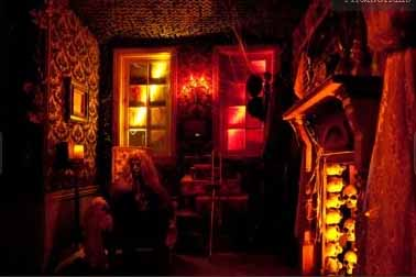 Reign of Terror Haunted House red room