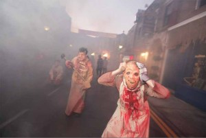 Halloween Horror Nights 2011 Review Zombieville