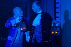 """Brian David Pope and William Joseph Hill in """"The Cask of Amontillado"""""""