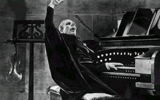 Disney Concert Hall Halloween Film with Organ
