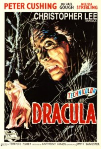 horror of dracula verticle poster technicolor
