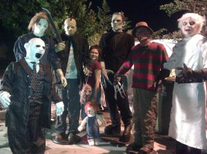 michael, jason, frankenstien, freddy